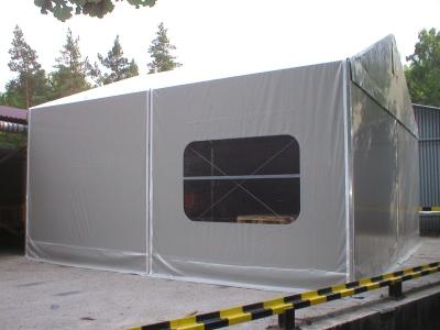 Hale namiotowe mini