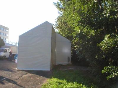 Hale namiotowe nietypowe